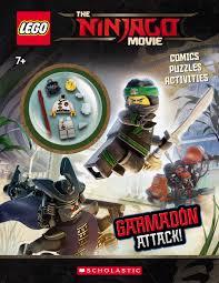 Lego Ninjago Movie: Garmadon Attack! (Lego Ninjago Movie: Activity Book  with Minifigure) (Other) - Walmart.com - Walmart.com