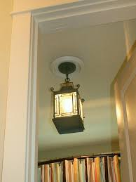 recessed light with a pendant fixture