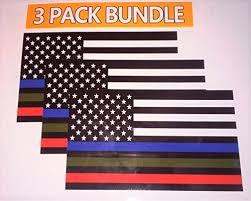 Police Military And Fire Thin Line Usa F Buy Online In Bahrain At Desertcart