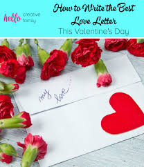 how to write the best love letter this