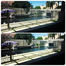 Design Meets Real Estate On Instagram The Dilemma I Needed A Pool Fence To Protect My Little Non Swimmers B Pool Landscaping Outside Pool Fence Around Pool