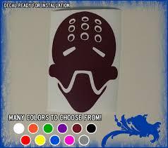 5 Zenyatta Face Vinyl Sticker Overwatch Omnic Monk Car Window Decal Orbs Healer Ebay