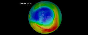 earth s ozone layer is healing