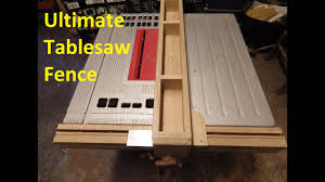 The Ultimate Table Saw Fence 6 Steps With Pictures Instructables