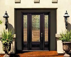 fiberglass entry door with side lights