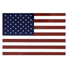 Amercian Flag Vinyl Decal