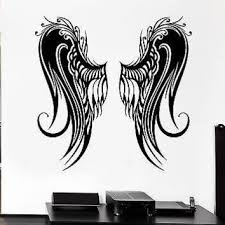 Shop Angel Wing Decals On Wanelo