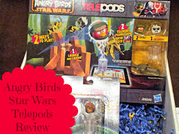 Angry Birds Star Wars Telepods Review and Giveaway - Honest And Truly!