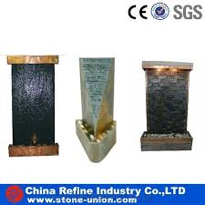 natural indoor slate water