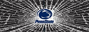 Buy Penn State Nittany Lions Shattered Auto Rear Window Decal Online At Low Prices In India Amazon In