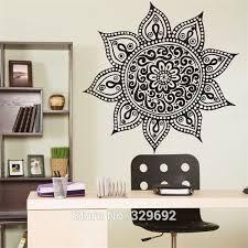 Yoga Mandala Om Indian Buddha Symbol Mehndi Vinyl Wall Decal Home Decor Wall Sticker Indian Home Decor Olivia Decor Decor For Your Home And Office