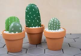 rock cactus garden easy and fun diy