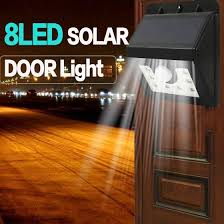 Shop Stylish Super Bright Solar Powered Door Fence Wall Lights Led Outdoor Garden Light Online From Best Furniture And Decor On Jd Com Global Site Joybuy Com