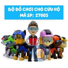 Đồ chơi mô hinh nhân vật hoạt hình biệt đội chó cứu hộ cho bé 27005 - Đồ  khuyến mãi giá tốt