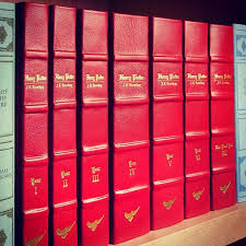 leather harry potter book sets