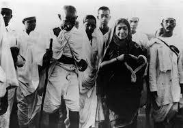 Gandhi's Salt March of 1930
