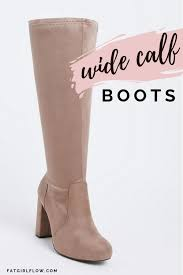 wide calf boots for plus size s