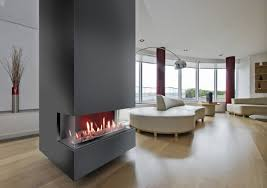 two sided see through gas fires