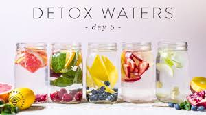 5 detox waters for weight loss beauty