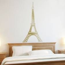 Eiffel Tower Wall Decals Stickers Graphics