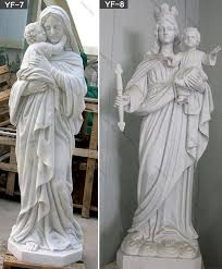 catholic statue mother of virgin mary