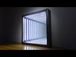 make an led infinity illusion mirror