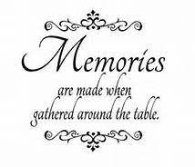 quotes about family meals bing images memories quotes family