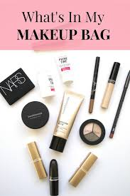 what s in my makeup bag cly yet trendy