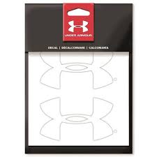 Under Armour Logo 4 Decal 2 Pack Walmart Com Walmart Com