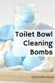 homemade fizzy toilet bowl cleaner