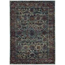 ft x 9 ft overdyed area rug 003810