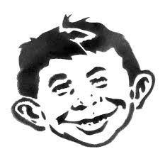 Alfred E Neuman-STENCIL by crusty-punk on DeviantArt | Alfred e ...