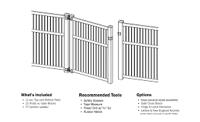 Yard Gates Bundle Plastic Lumber Yard Pergola Kits Vinyl Fence Rail Systems