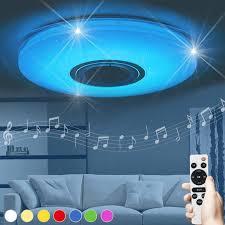 Luminaria Round Lamp Kids Room Lampara Techo Living Room Lights Music Bedroom Children Led Ceiling Light Bluetooth Speaker New Ceiling Lights Aliexpress
