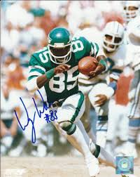 Autographed Wesley Walker (New York Jets) Photo - 8X10