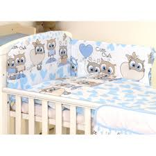 baby bedding set 5 elements owl bed