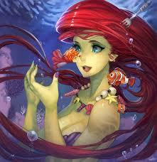 Hình nền : hoạt hình, Walt Disney, Nàng tiên cá nhỏ, Phim Ponyo ...