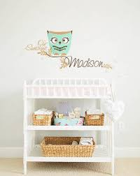 Owl Nursery Wall Monogram Wall Decor Wallconsilia Comwallconsilia Com