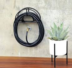 garden hose wall mount decorative