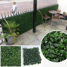 Artificial Privacy Fence Boxwood Hedge コンテナガーデニング ガーデニング 庭