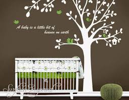 Cute Bird Tree Custom Name Quote Leaf Leaves Birds Lovely Wall Etsy