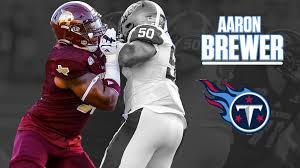 Aaron Brewer Signs with Tennessee Titans - Texas State Athletics