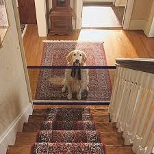 Dog Guard Gate For Dogs Safety Pet Gate Dog Mesh Fence Portable Folding Easy Install Anywhere Walmart Canada