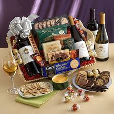 sympathy gifts wine cheese gift