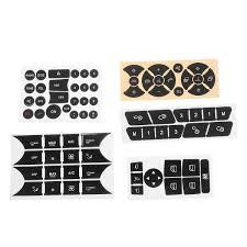 Car Button Repair Package Steering Ac Window Decal Sticker For 2007 2014 Mercedes Benz Walmart Com Walmart Com