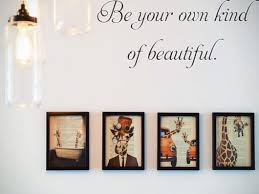 Be Your Own Kind Of Beautiful Car Or Wall Vinyl Decal Fusion Decals
