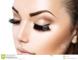 beauty face makeup stock photo image