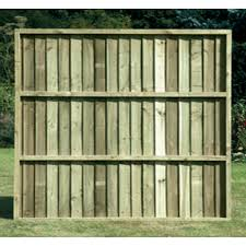 Tafs Framed Featheredge Panel Pressure Treated 1218 X 1828mm