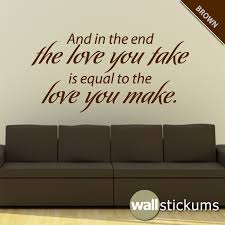 Beatles Quotes Wall Decals Quotesgram