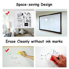 Whiteboard Sticker Dry Erase Wall Decal Adhesive White Board Paper Sheets 17 7 X 118 Large White Boards Stickers For Ki Dry Erase Wall Wall Decals Wall Sticker